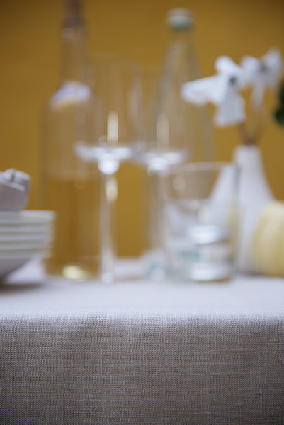 Natural pure linen hemstitch tablecloths in many sizes and colors. Largest assortment of Nordic, Scandinavian style table linens, made from 100% linen fabrics. Modern simplicity and still timeless elegance tablecloths by reasonable price. Easy to care. Fast worldwide shipping.