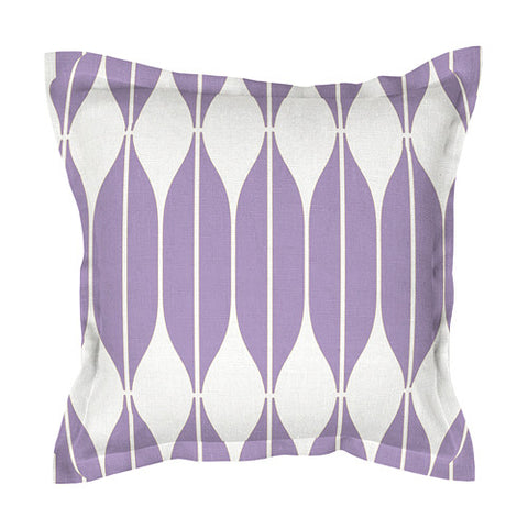 Lilac 100% Linen Cushion Cover COB