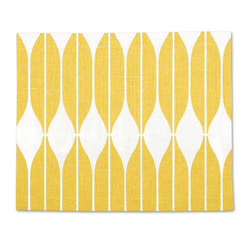 Yellow 100% Linen Placemat COB 35x42 cm