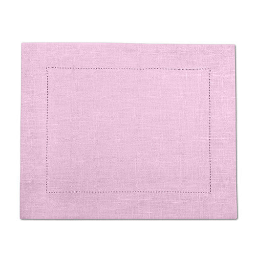 Lavender 100% Linen Placemat with Hem Stitch 37x45 cm