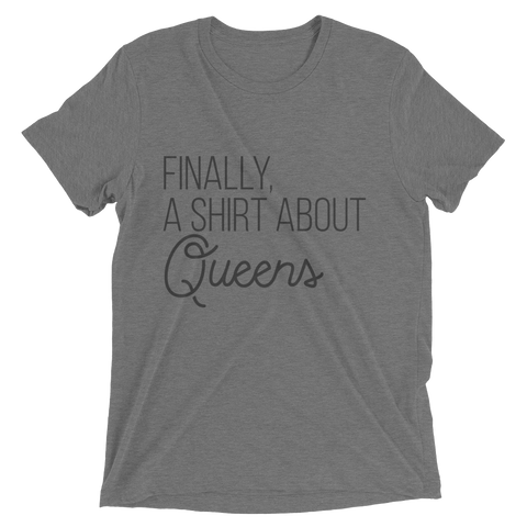 Finally Queens Unisex Short Sleeve T-Shirt