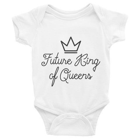 Infant King Short Sleeve One-Piece