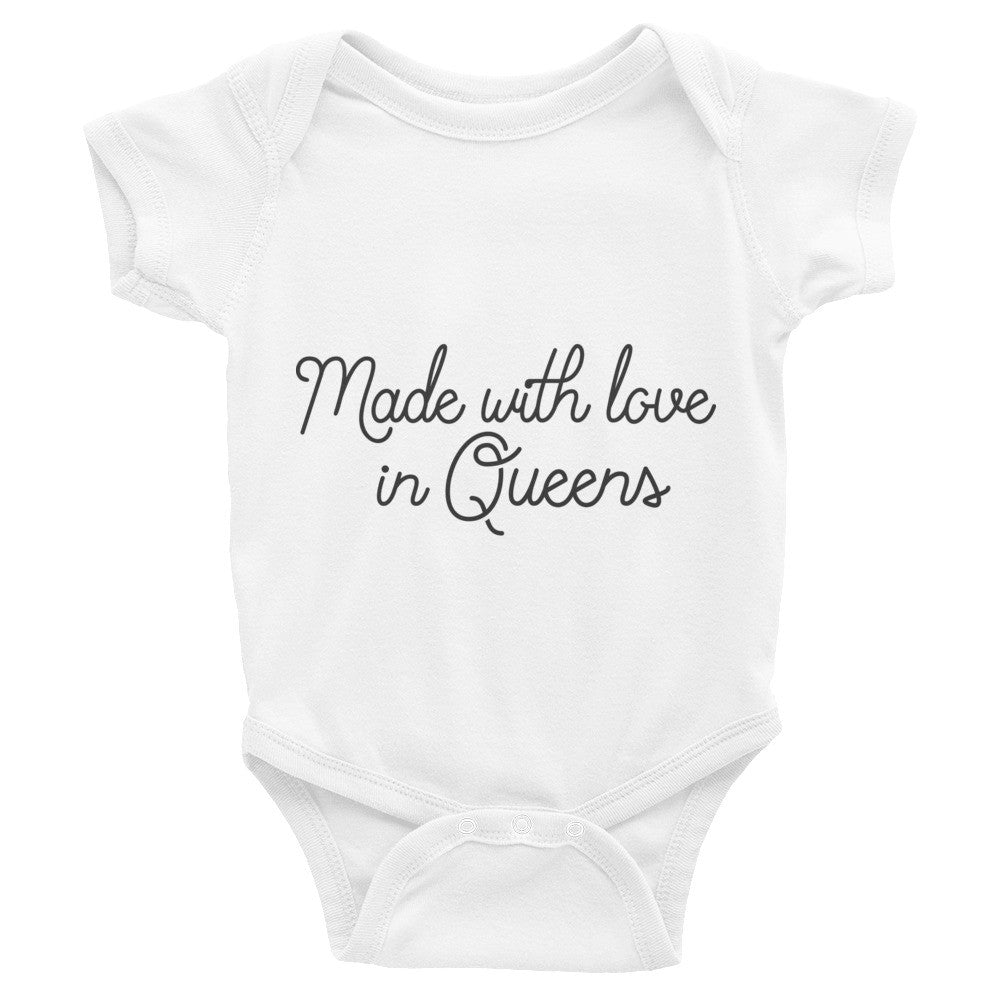 Infant Made With Love Short Sleeve One-Piece