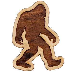 Bigfoot Silhouette Magnet