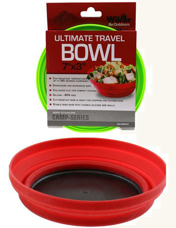 Silicone Collapsible Bowl