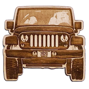 Offroad Cutout Magnet