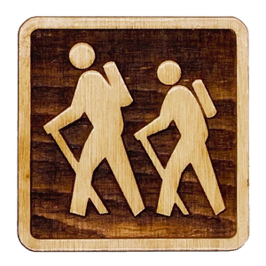 Hiking Trail Marker Magnet