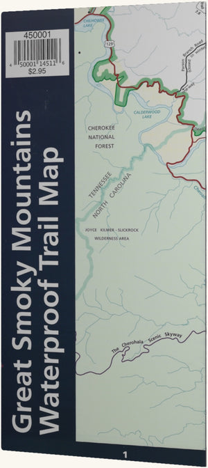 Great Smoky Mountains Waterproof Trail Map