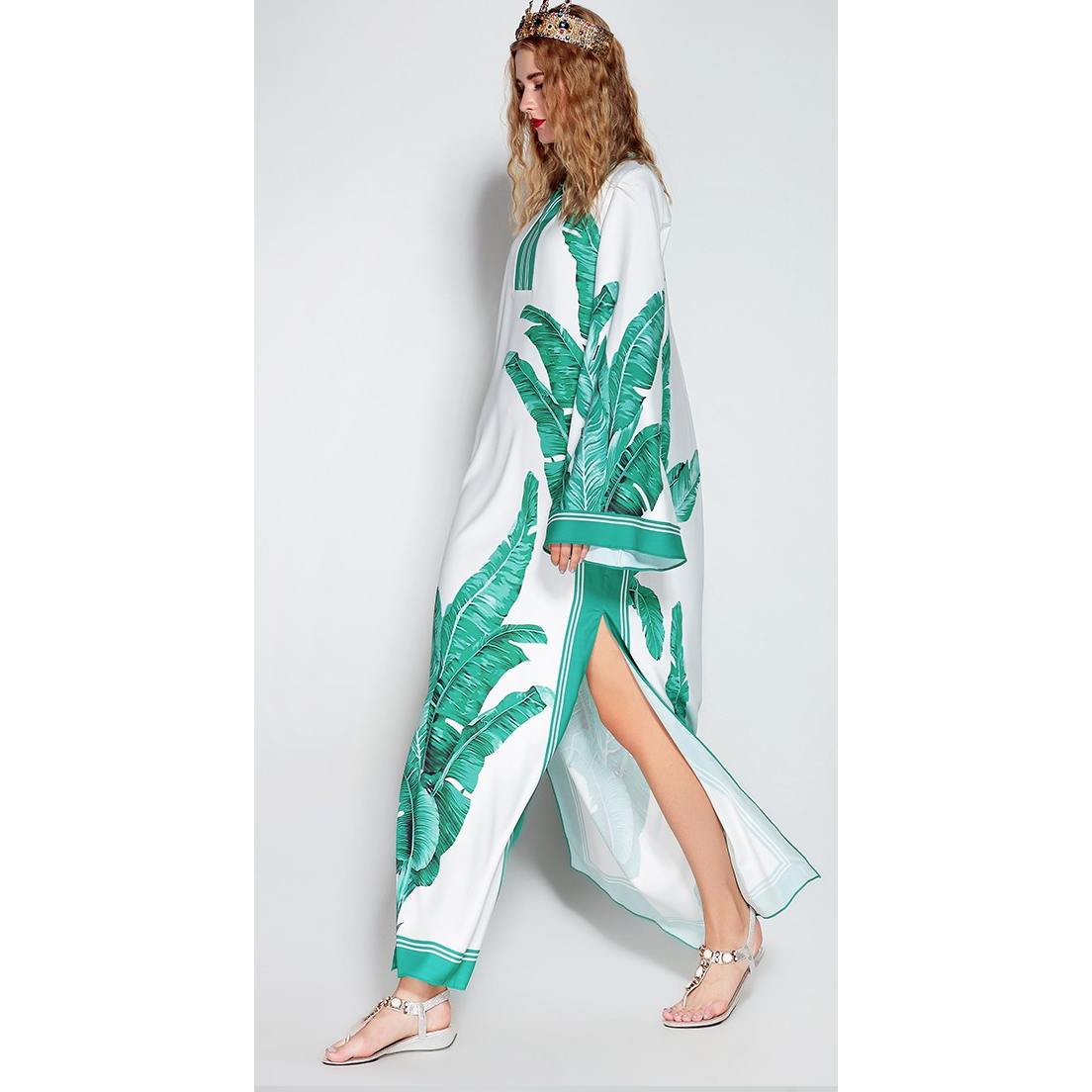 Statement Womens Kaftan Dress