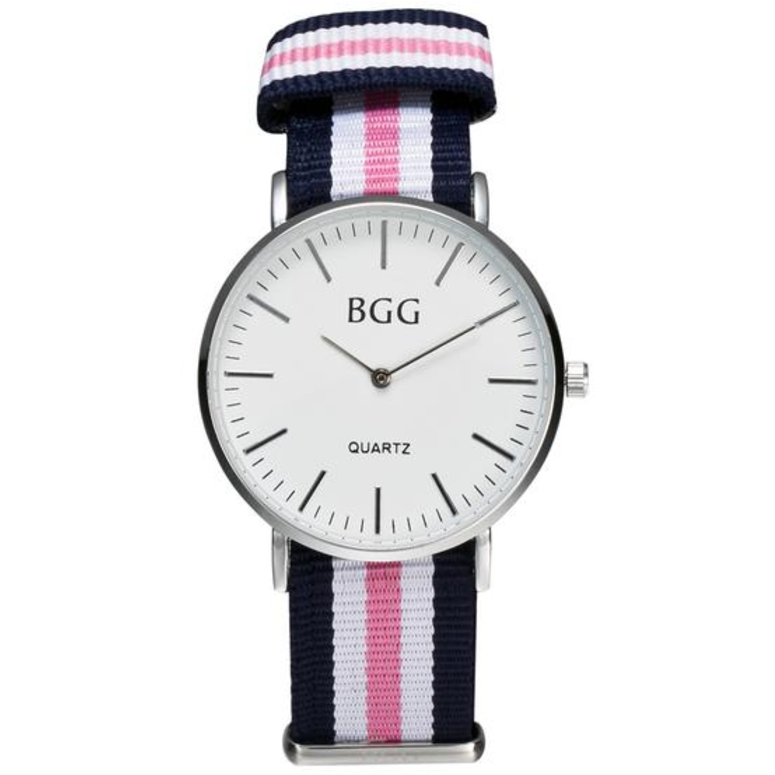 Casual Ribbon Strap Spring Watch-More Colors