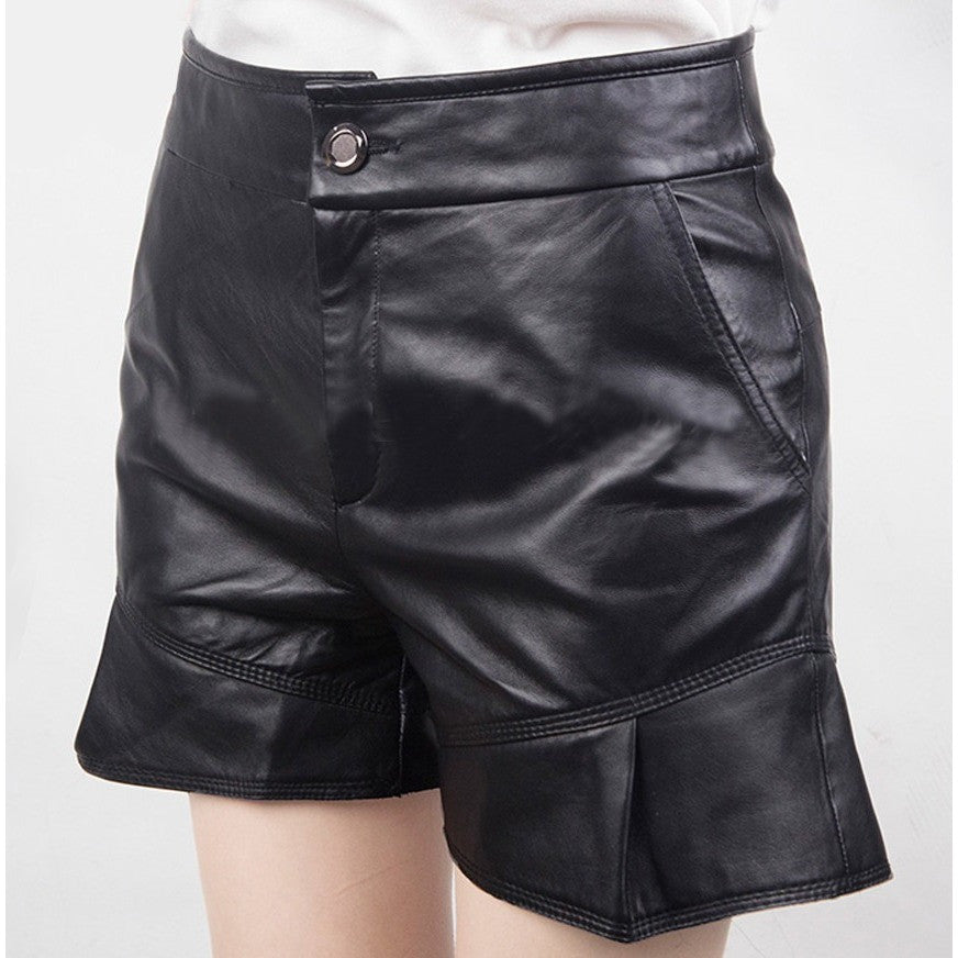 Genuine Leather Shorts