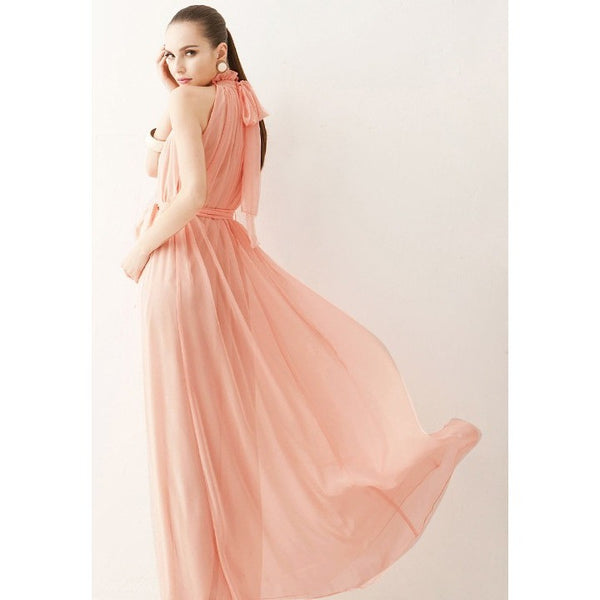 Long Chiffon Bohemian Dress-More Colors
