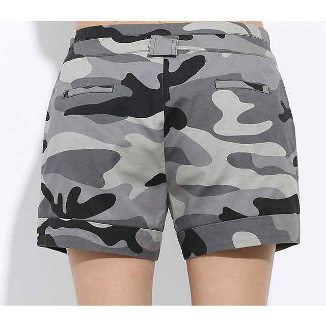 Camouflage Womens Shorts