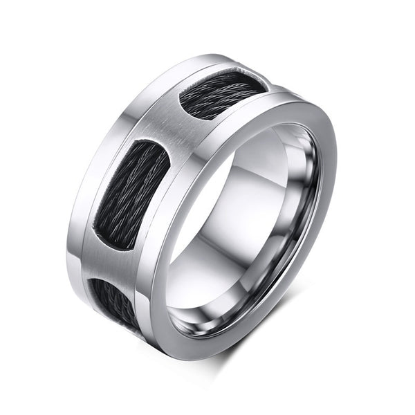 Stainless Steel Unisex Ring