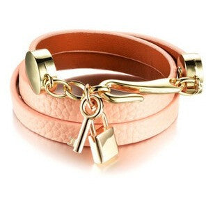 Leather Wrap Bracelet-More Colors