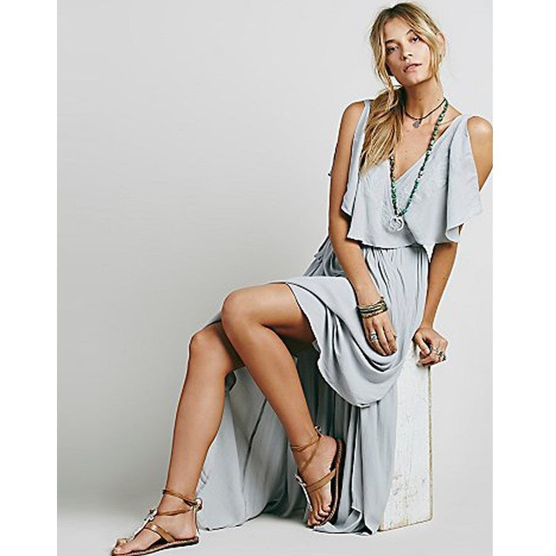 Free People Style Flutter Dress
