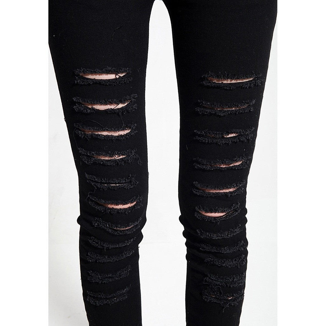 Torn Skinny Jeans-More Colors