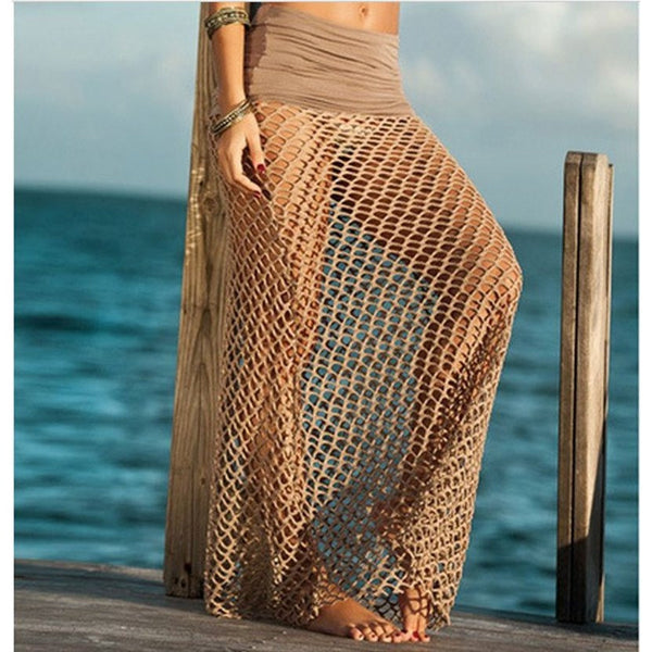 Cool Netted Skirt Cover Up