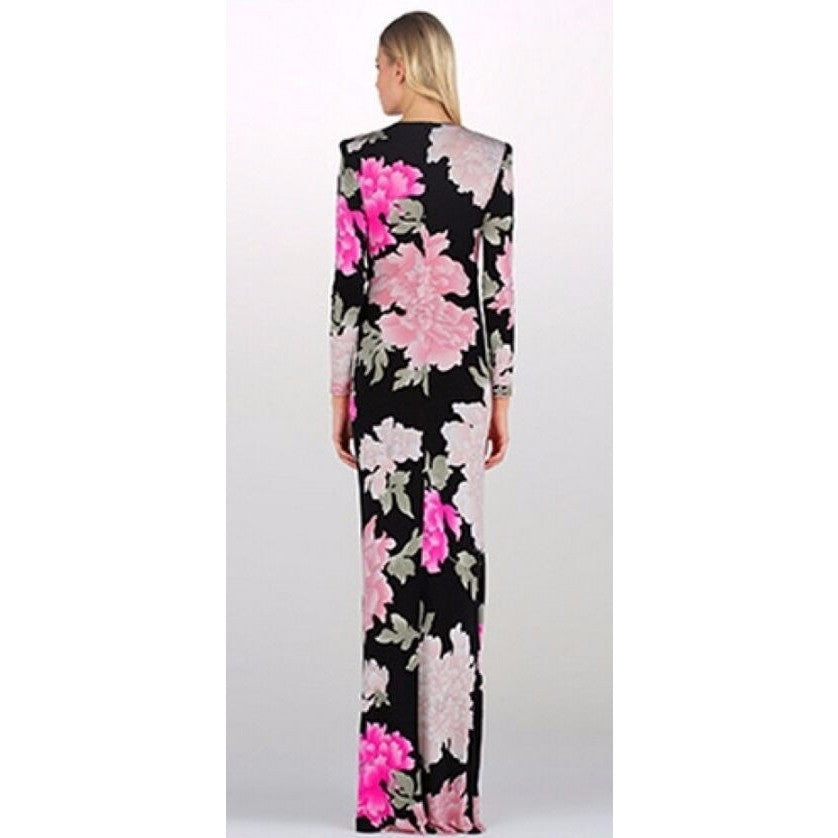 Pucciesque Floral Printed Gown
