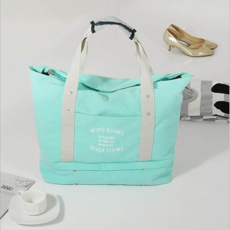 Canvas Carryall Totebag