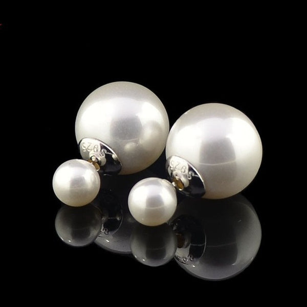 Dior Style Pearl Earrings -9 Colors