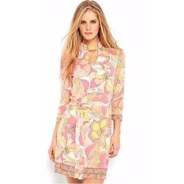 Pucci Print Dress with Sash