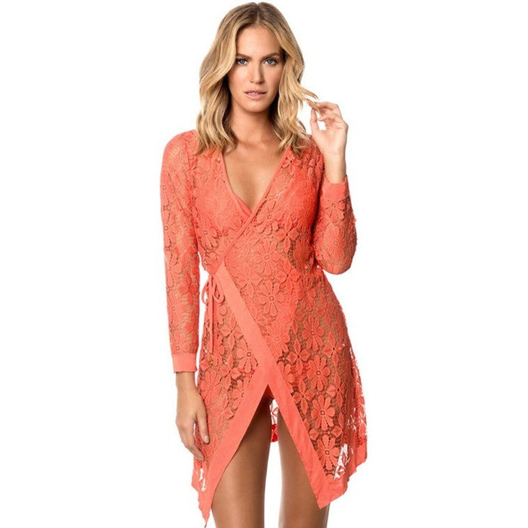 Wrap Bikini Coverup-More Colors