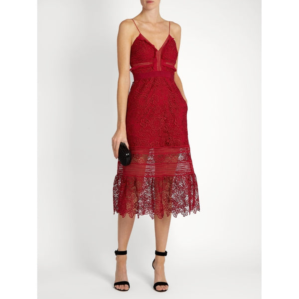 Self Portrait Style Lace Dress-More Colors