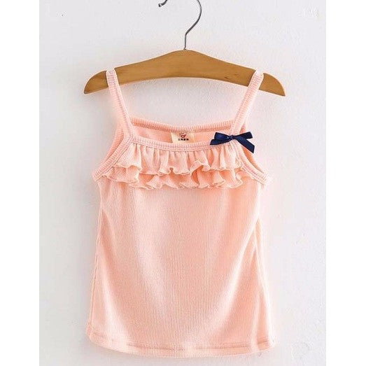 Ruffled Tank Top-Many Colors