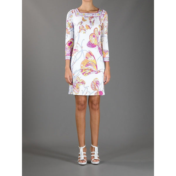 Butterfly Pucci Print Spring Dress