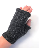 Adult Fingerless Mitts Pattern
