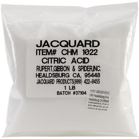 Citric Acid 1lb.