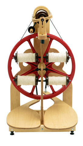 LIMITED EDITION CHERRY Ladybug Spinning Wheel Accessories **PRE-ORDER**