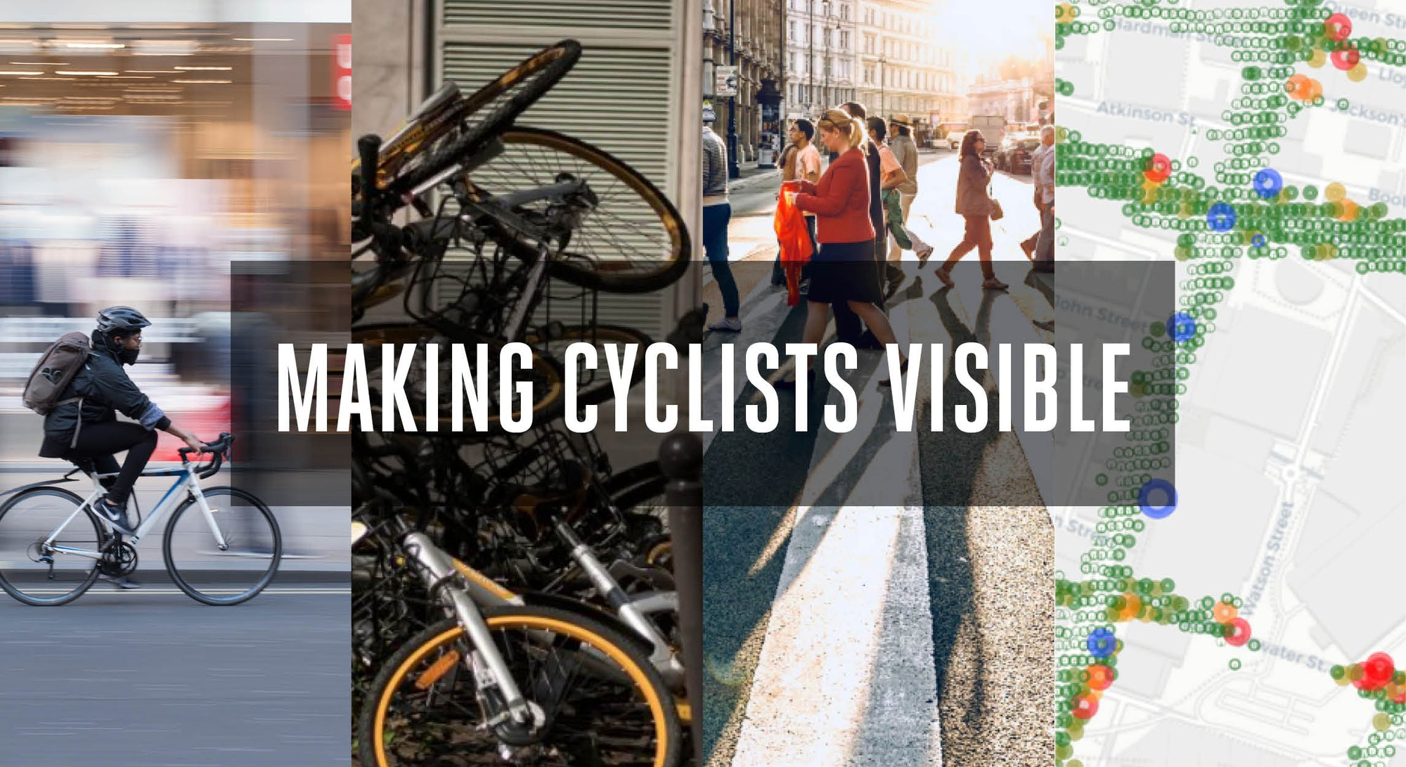 MAKING CYCLISTS VISIBLE | THE FUTURE OF CITY TRAVEL