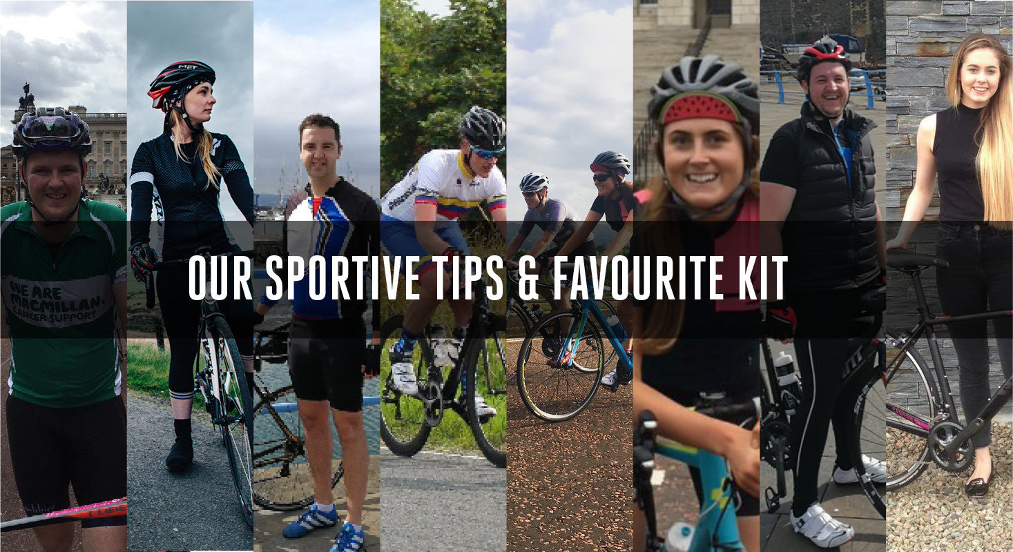 Staff Picks: Our top sportive tips and favourite bits of kit