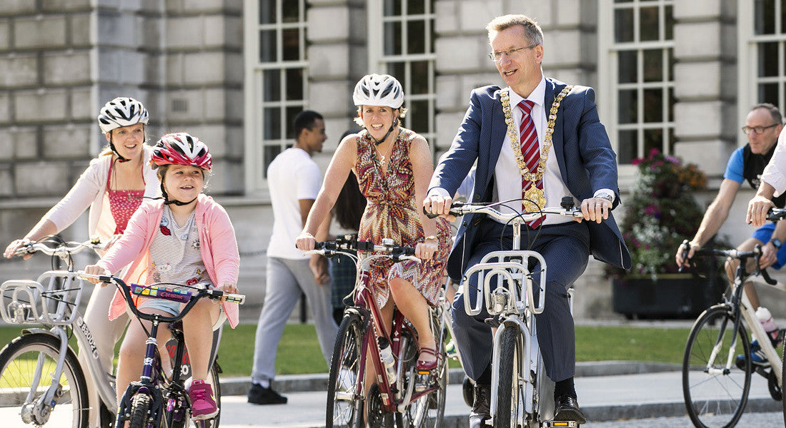 Cyclists are reclaiming the streets as Ciclovia Belfast continues to gather pace