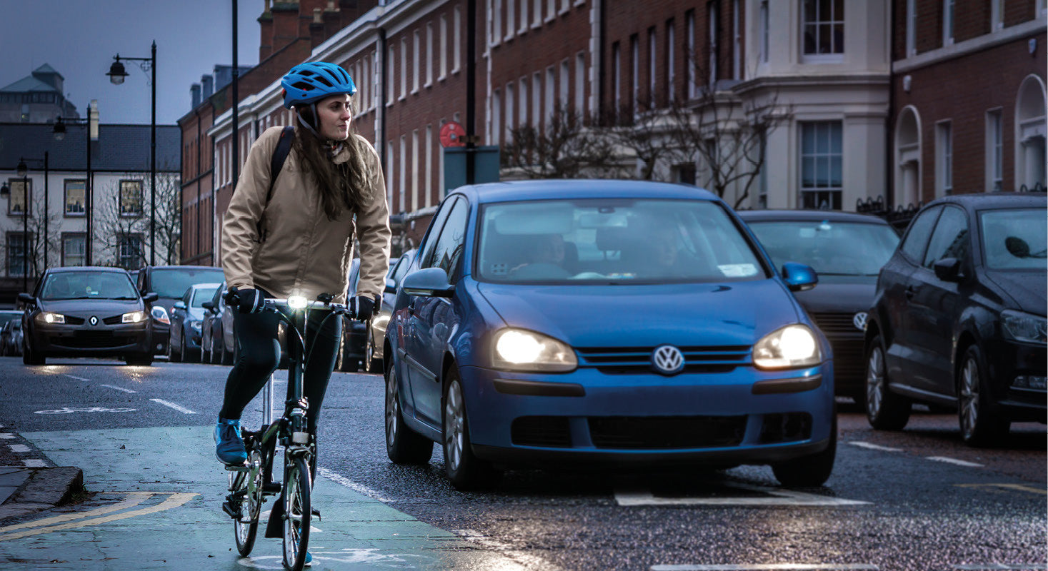 Bike lights and daylight visibility: Why cyclists should be seen at all times