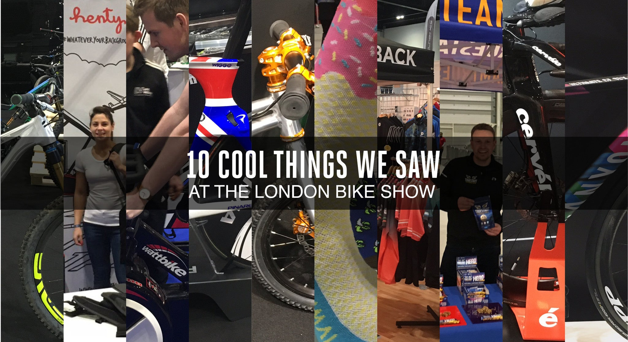 10 cool things we saw at the London Bike Show