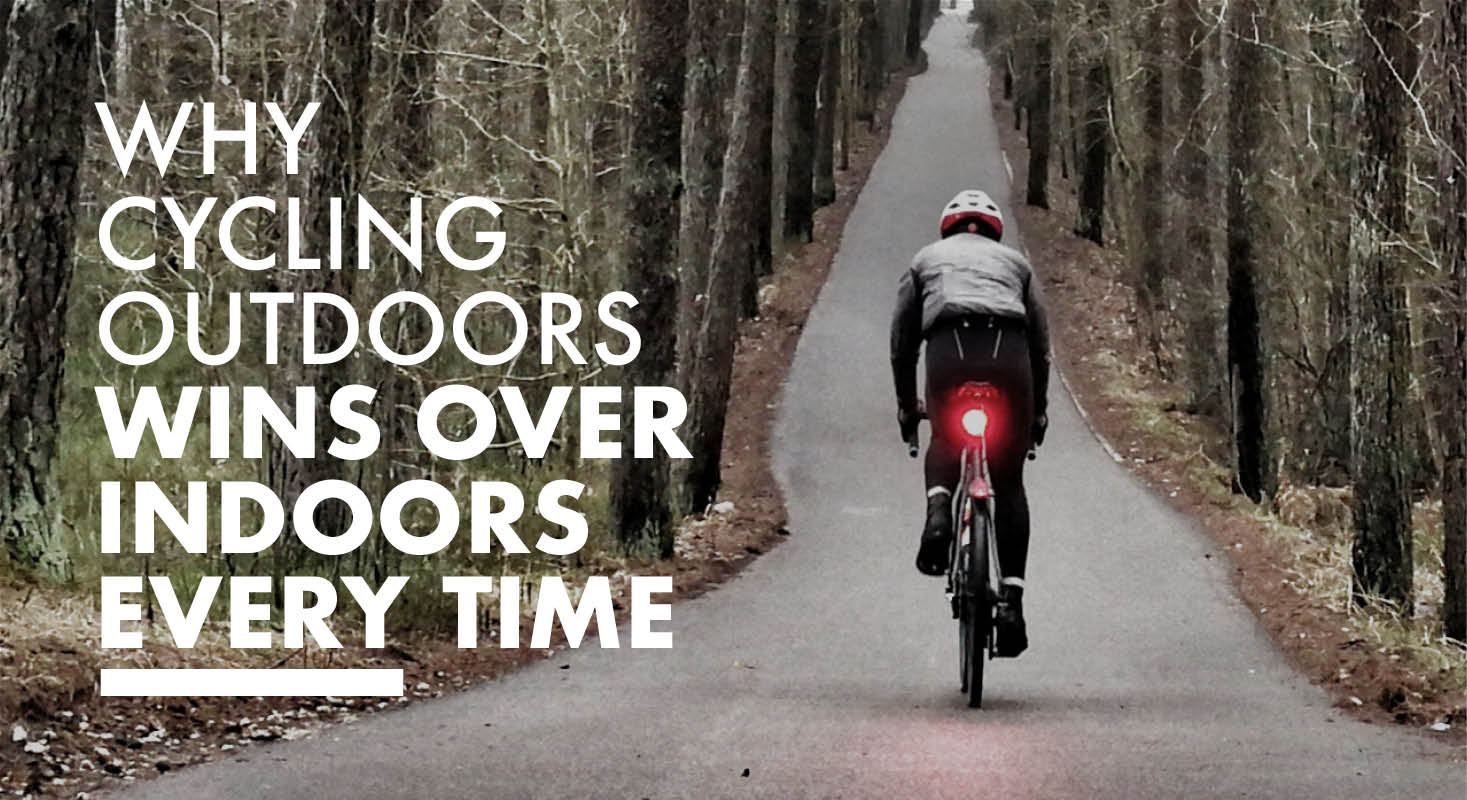 🚴‍♂️ Why Cycling Outdoors Wins Over Indoors, Every time.