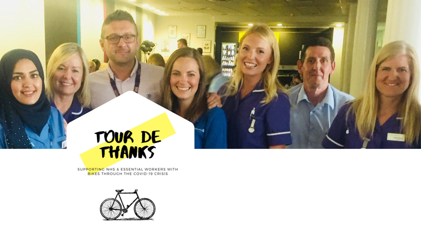Tour de Thanks - In Celebration Of Cycling Frontline Heroes