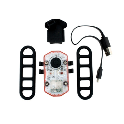 Contents of See.Sense ICON rear light