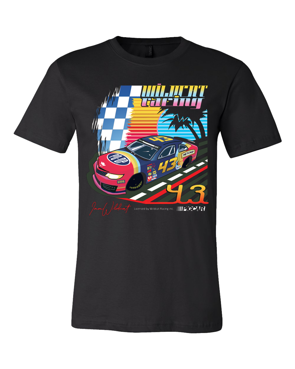 Wildcat Racing Tee - Black