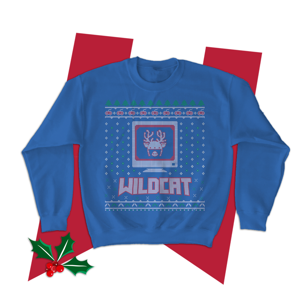 Ugly Xmas Sweater (Red or Blue) LIMITED EDITION