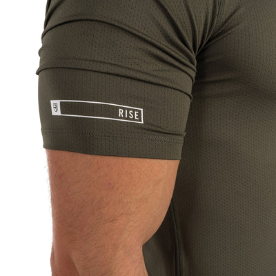 Level T-Shirt – Army Green