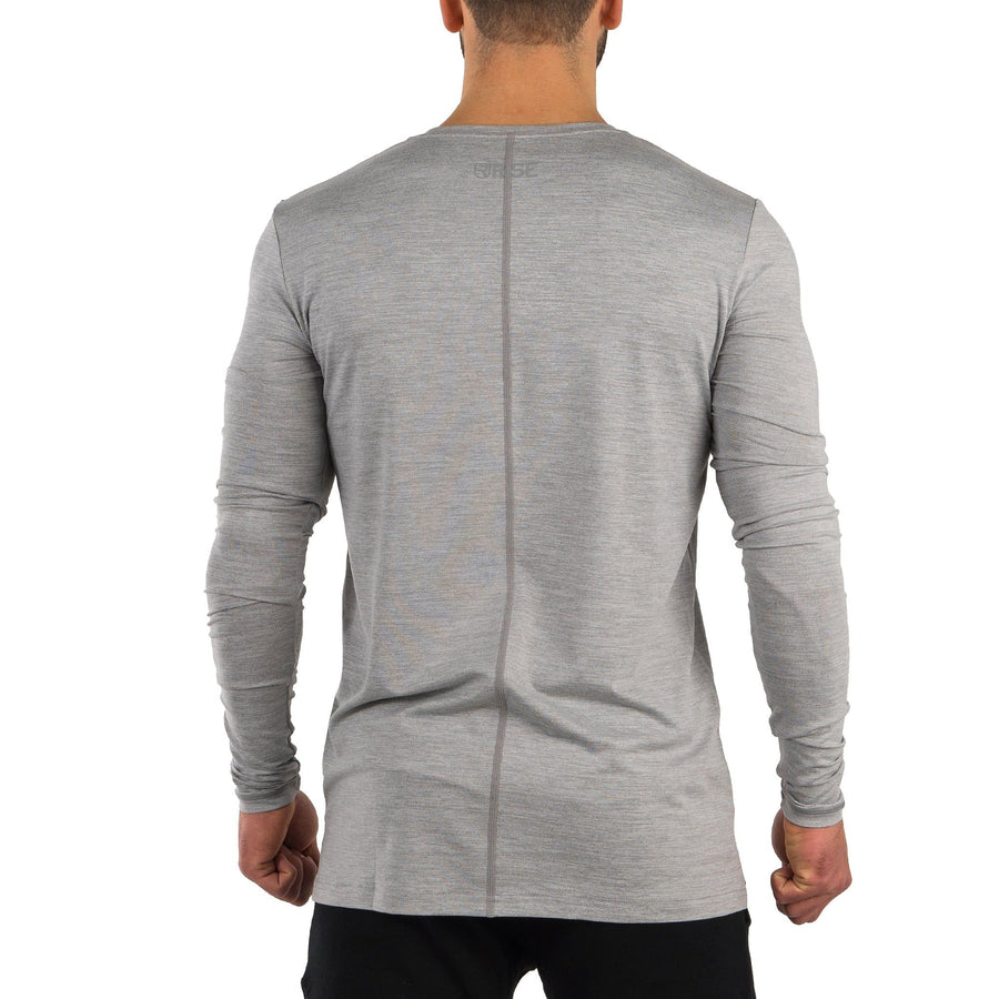 Softest Long Sleeve – Grey Marl