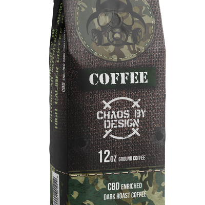Outbreak Coffee - Chaos By Design (CBD) Enriched