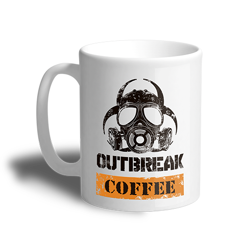 Outbreak 11oz Coffee Cup
