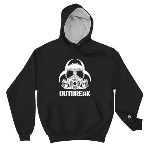 Outbreak Mask Champion Hoodie