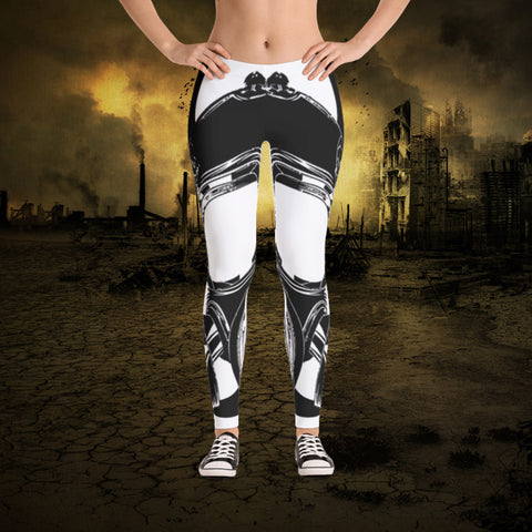 Outbreak Mask All-Over Women's Leggings