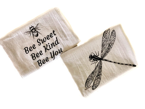 Tea Towels-Yikes Bugs (3 styles available)